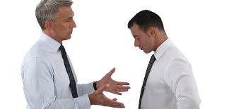 conversando cobrando chefe