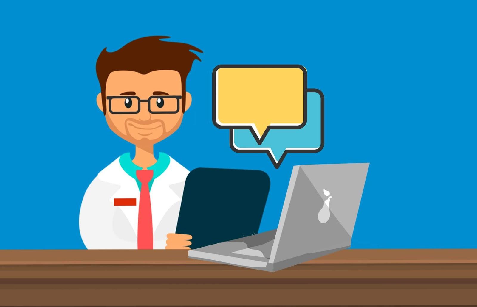 doctor provide online support