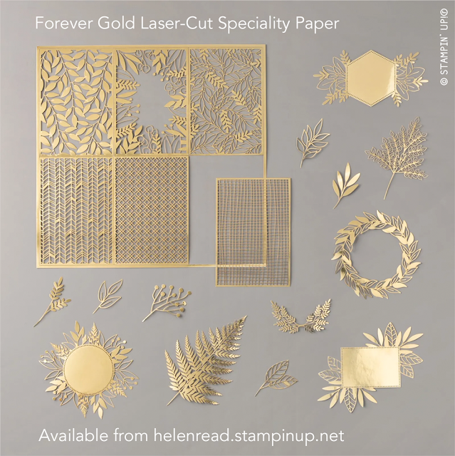 Forever Gold Stampin Up blends allthingsstampy