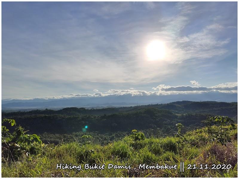 Hiking Kali Ke-2 Bukit Damis Membakut || 21.11.2020
