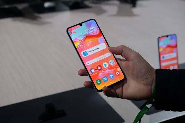 Samsung Menghentikan Rilis Pembaruan Android 10 untuk Galaxy A70