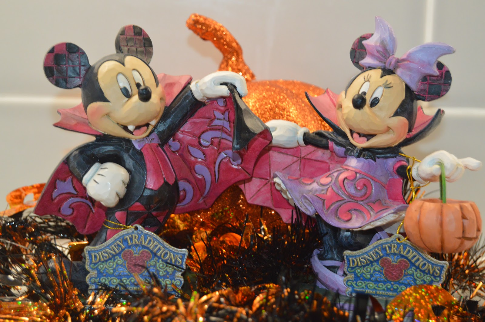 Disney Traditions Violet Vampire Minnie and Mickey