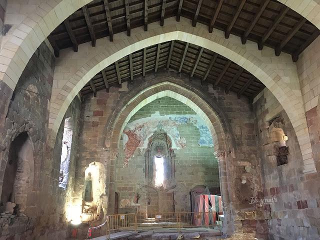 Interior Iglesia de Santiago