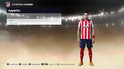 PES 2021 Faces Jose Maria Gimenez