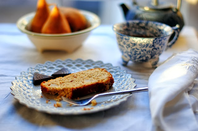 Spelt Cake Recipes Uk: French Foodie Baby: A Pear Almond Spelt Cake, And Tuning