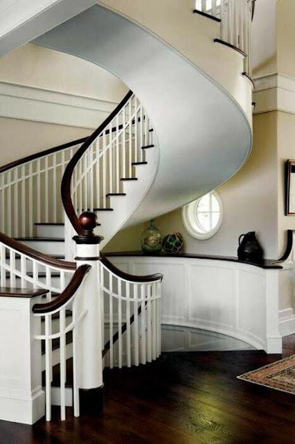 Dise o de escaleras modernas estilo caracol decoraci n - Escaleras casas modernas ...