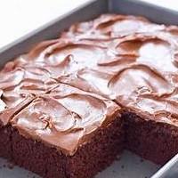 POTATO-CHOCOLATE CAKE
