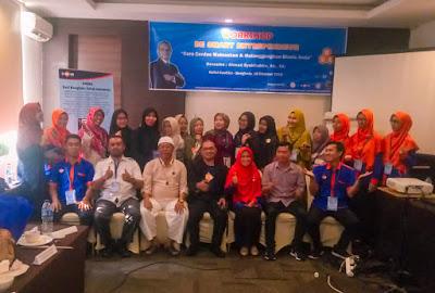 peserta workshop dari ukm bengkulu