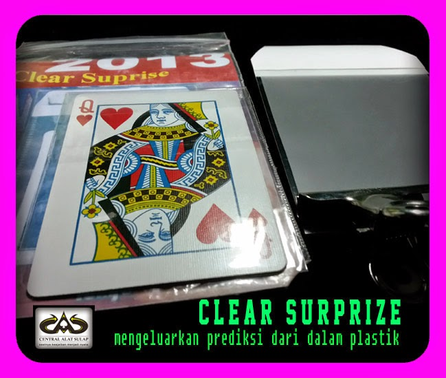 TOKO SULAP JOGJA CLEAR SURPRIZE MAGIC