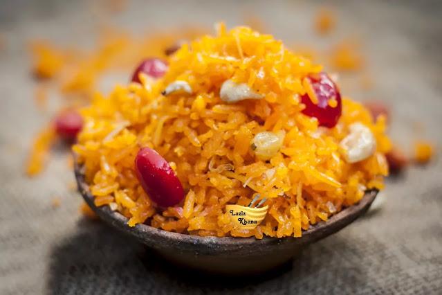 Sweet Rice Recipe in Hindi