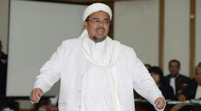 Polisi Terbitkan Surat Perintah Penangkapan untuk Rizieq