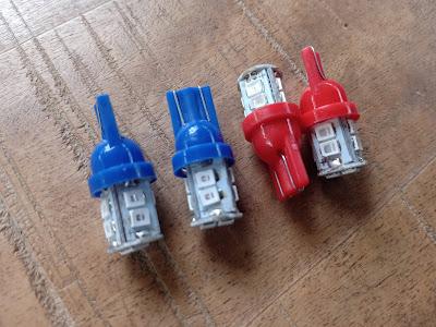 Lampu Seri LED Motor Lama