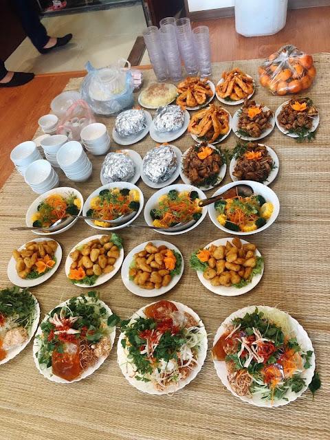 dịch vụ nấu cỗ tại Trung Hòa- Cầu Giấy