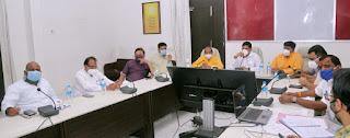 जिला क्राइसिस मैनेजमेंट समिति की बैठक सम्पन्न, सदस्यों ने कोविड रोकथाम हेतु दिये आवश्यक सुझाव
