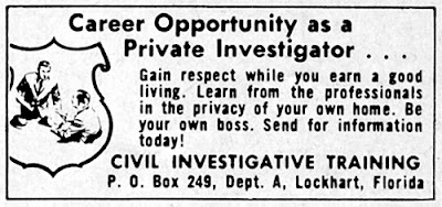 Career Opportunity as a private investigator