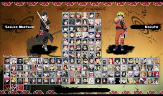 Naruto Senki MOD Full Path of Strunggle Android Apk V2.0