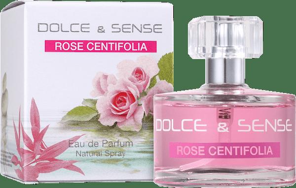 Rose Centifolia: caixa e frasco