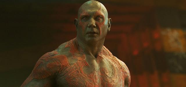James Gunn revela se Drax irá retornar para 'Guardiões da Galáxia Vol. 3'
