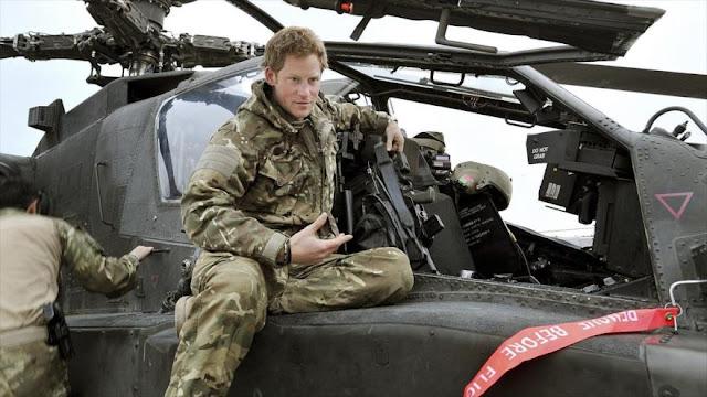 EIIL amenaza con enviar 'al infierno' al príncipe británico Harry
