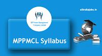 MPPMCL CA Syllabus