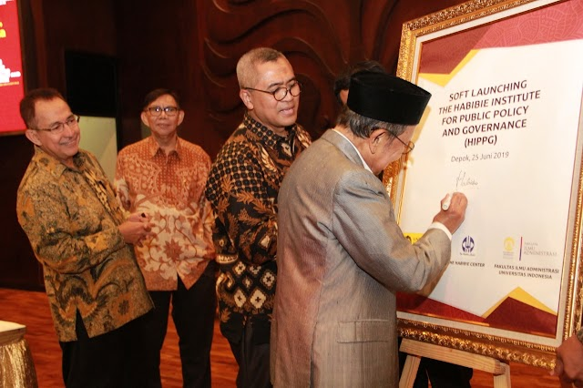 UI Luncurkan Habibie Institute for Public Policy and Governance