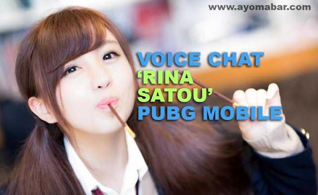 Baru! Voice Chat PUBG Mobile Versi Rina Satou 'Anime Voice'