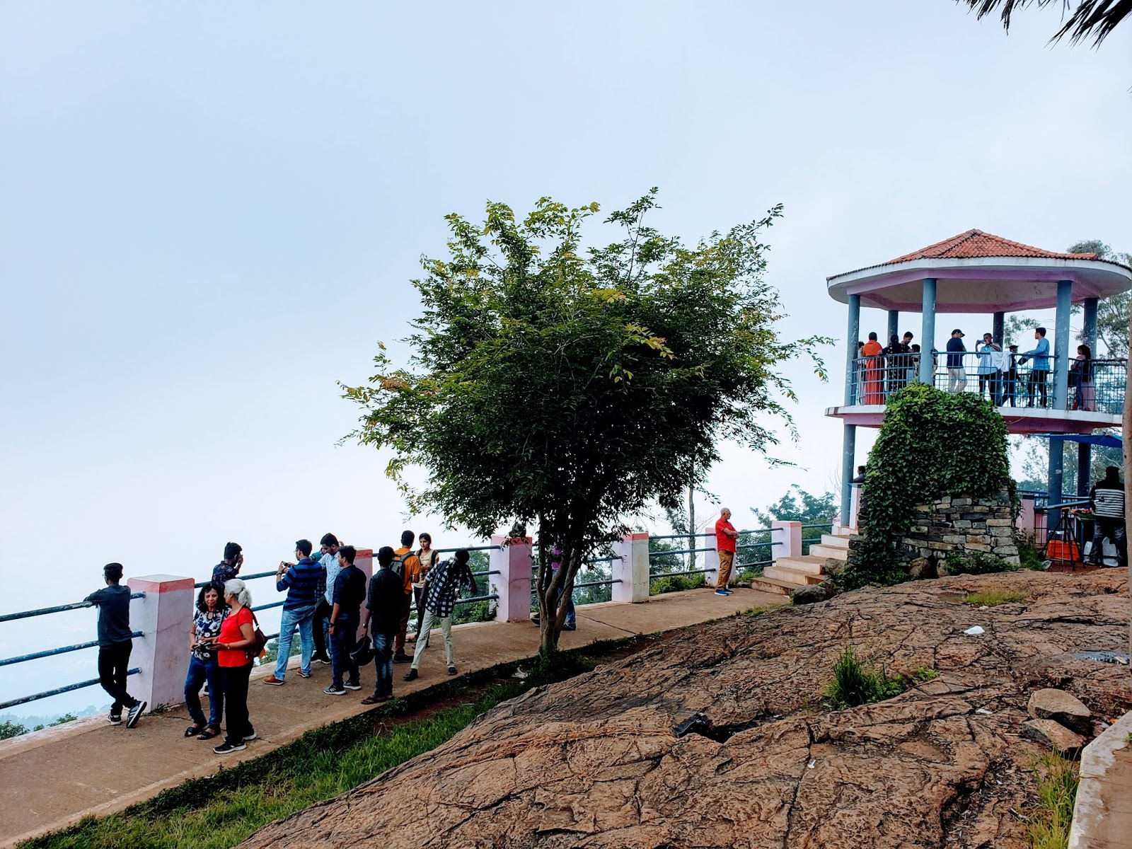 Pagoda viewpoint, Yercaud
