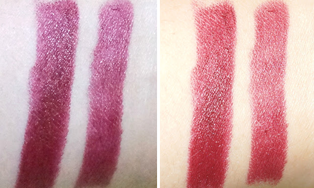 Swatch: Burberry Lip Velvet Long Wear Lipstick in Oxblood No. 437