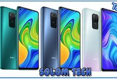 جميع مواصفات هاتف Xiaomi Redmi note 9