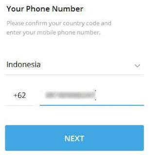 cara membuat akun telegram di pc