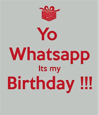 My Birthday Whatsapp Dp Images