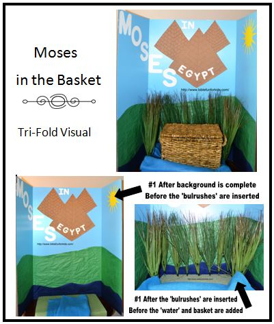 Bible Fun For Kids Tri Fold Bible Class Visual Aids