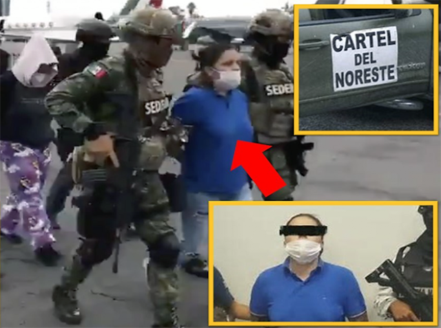 """""""La Teniente"""" la líder del CDN capturada hace unos días la que suplico que no le hicieran nada porque tenia familia, andaba en amorios con Teniente de Ejercito"""