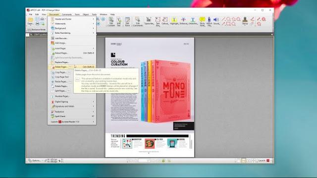 قارئ ملفات بي دي اف  PDF-XChange Editor