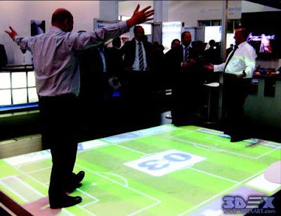 Interactive Floor Projection, interactive floor games