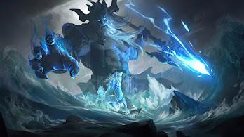 Poseidon, Trident, Fantasy, Sea, God, 4K, #6.2529