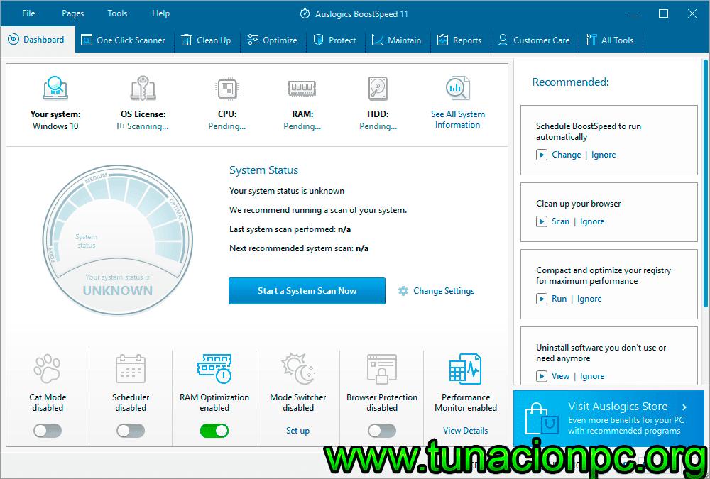 AusLogics BoostSpeed Portable con Licencia