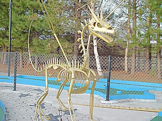 Dinosaur Valley Mini Golf. Photo courtesy of Josee Rainville