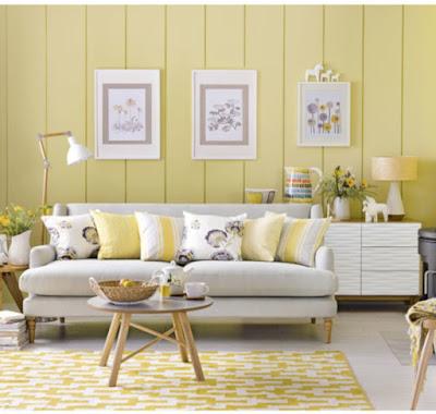 Warna Lemon yang Membawa Suasana Fresh
