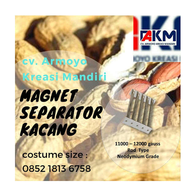 magnet separtor kacang
