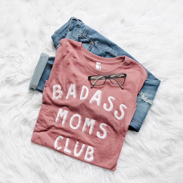 flat lay of mom uniform