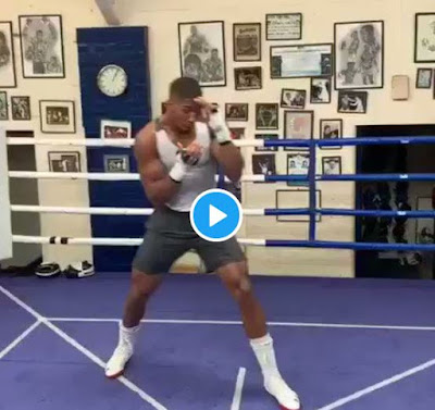 """He Who Laughs Last Laughs Hardest"" - Anthony Joshua Trains Ahead Of Rematch With Andy Ruiz"
