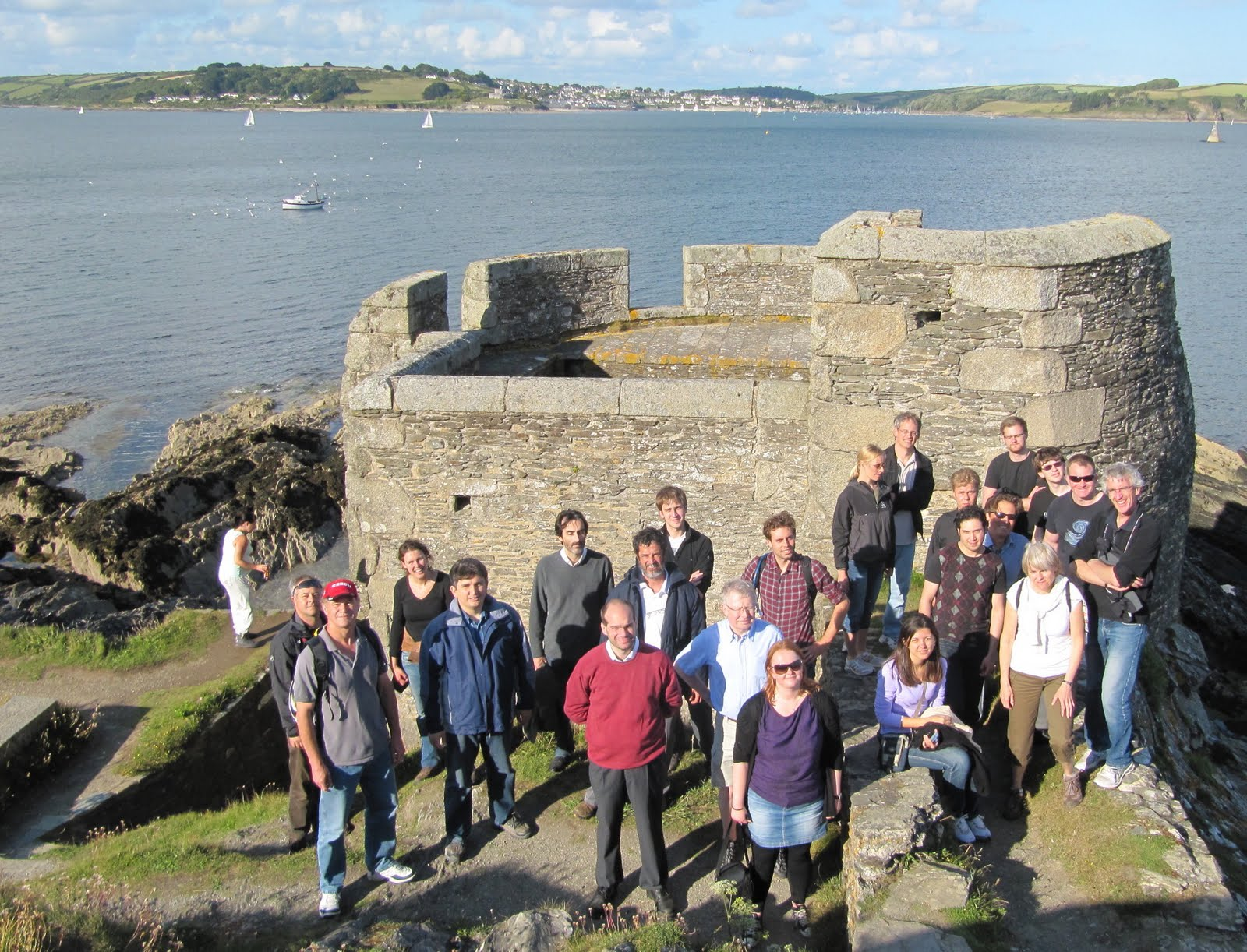Pendennis Headland, Falmouth and Carrick Roads