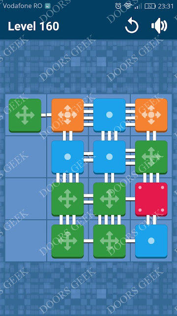 Connect Me - Logic Puzzle Level 160 Solution, Cheats, Walkthrough for android, iphone, ipad and ipod