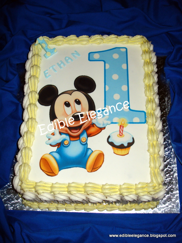 Edible Elegance Image Cakes