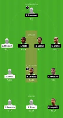 MRS vs SSCS Dream11 team prediction