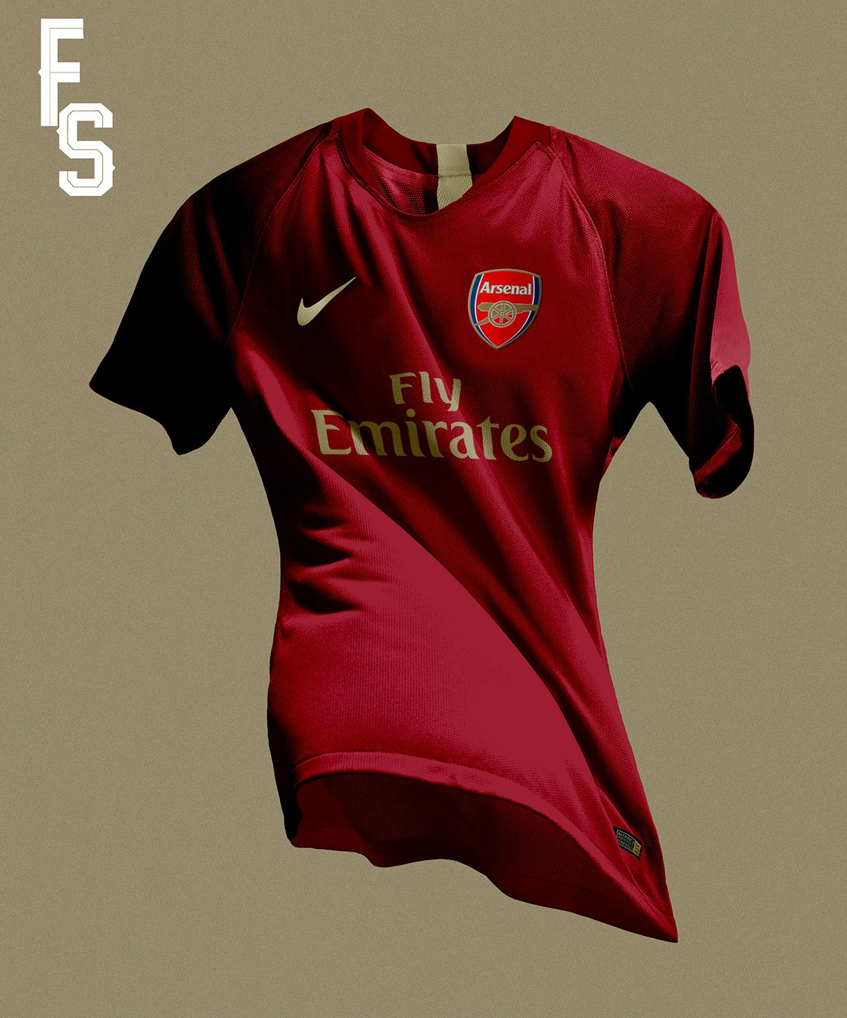 new concept b4a35 73172 Nike Arsenal 18-19 Home Kit Concept by Franco Sosa | Futbolgrid