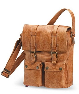 Belstaff Tan Leather Man Bag
