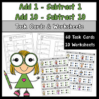Add and Subtract by 1s and 10s
