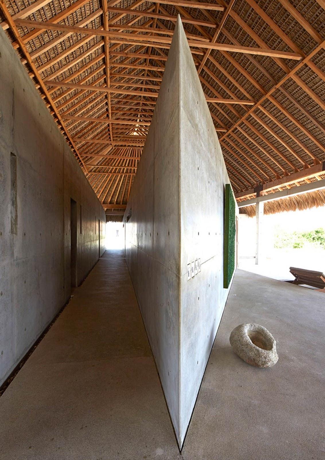 simplicity love  casa wabi  mexico